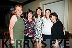 At the Balloonagh Secondary School Class of 1987 at The Ashe Hotel on Saturday were Caroline Sheehan, Helen Geary, Geraldine Delaney, Helen O'Connell, Breda Cronin