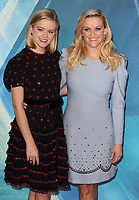 Ava Phillippe and Reese Witherspoon at the A Wrinkle In Time - European film premiere at the BFI IMAX, London March 13th 2018<br /> CAP/ROS<br /> &copy;ROS/Capital Pictures /MediaPunch ***NORTH AND SOUTH AMERICAS ONLY***