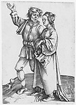 The peasant couple, Albrecht Dürer, 1495 - 1499