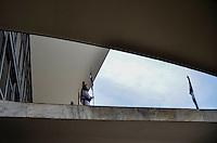 BRASÍLIA, DF, 07.03.2016 - CLIMA-DF - Palácio do Planalto na Área central de Brasília após forte chuva na tarde desta segunda-feira, 07. (Foto: Ricardo Botelho/Brazil Photo Press)
