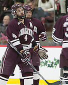 Kevin Lough (Colgate - 4) -  - The Harvard University Crimson defeated the visiting Colgate University Raiders 7-4 (EN) on Saturday, February 20, 2016, at Bright-Landry Hockey Center in Boston, Massachusetts.