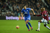 Callum Paterson during West Ham United vs Cardiff City, Premier League Football at The London Stadium on 4th December 2018