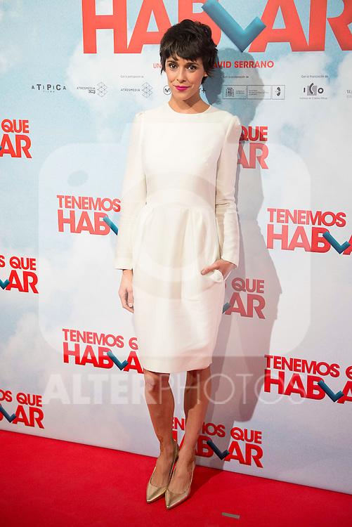 "Belen Cuesta attends to the premiere of the spanish film ""Tenemos que Hablar"" in Madrid, February 25, 2016. (ALTERPHOTOS/BorjaB.Hojas)"