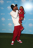LOS ANGELES, CA - AUGUST 10: Tyga, King Cairo Stevenson, at the Netflix Series Premiere Of True And The Rainbow Kingdom at the Pacific Theatres at The Grove in Los Angeles, California on August 10, 2017. Credit: Faye Sadou/MediaPunch