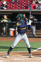 Beloit Snappers outfielder Shawn Duinkerk (19) at bat during a Midwest League game against the Wisconsin Timber Rattlers on May 30th, 2015 at Fox Cities Stadium in Appleton, Wisconsin. Wisconsin defeated Beloit 5-3 in the completion of a game originally started on May 29th before being suspended by rain with the score tied 3-3 in the sixth inning. (Brad Krause/Four Seam Images)