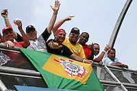 SAO PAULO, SP, 05 DE MAIO DE 2013 - MOVIMENTAÇÃO INDY 300 SP - Corrida da São Paulo Indy 300 realizada na tarde deste domingo (05), com largada as 12:30hs no circuito de rua do Anhembi, zona norte da cidade.  FOTO: MAURICIO CAMARGO / BRAZIL PHOTO PRESS.