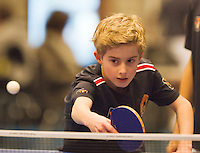 12-12-12, Rotterdam, Tennis, Masters 2012, Ballboy playing table tennis