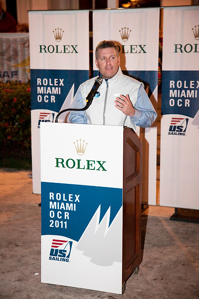 Dean Brenner, chairman U.S. Olympic sailing Commitee