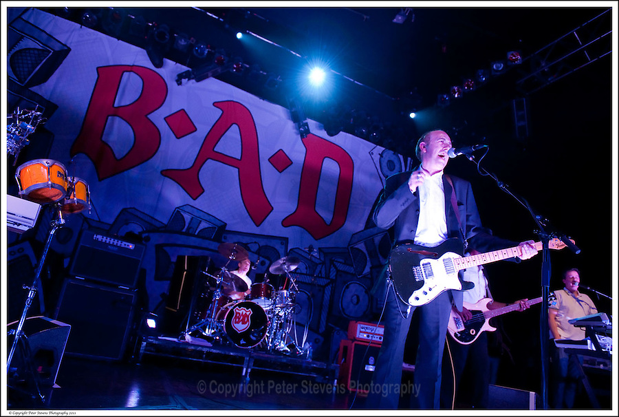 Greg Roberts, Mick Jones &amp; Dan Donovan -<br /> <br /> Big Audio Dynamite perform at the Shepherds Bush Empire on the 2nd April 2011