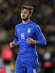 Italy's Bryan Cristante in action during the Under 21 International Friendly match at the St Mary's Stadium, Southampton. Picture date November 10th, 2016 Pic David Klein/Sportimage