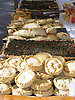 Tipical mallorquean food: Coqueroll, Coca de Tramp&oacute; and Empanadas<br /> <br /> t&iacute;pica comida mallorquina:  Coqueroll, Coca de Tramp&oacute; y Empanadas<br /> <br /> typisch mallorquinische Speisen: Coqueroll, Coca de Tramp&oacute; und Empanadas<br /> <br /> 2481 x 1860 px