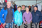 Pictured at the Fair Day in Athea on Saturday were L-R : John Hunt of Athea, Breda O'Connell of Abbeyfeale, Billy O'Connell Abbeyfeale, Nelly Aherne of Athea and Mossy Aherne of Athea.