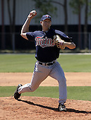 March 31, 2004:  Pitcher Scott Baker of the Minnesota Twins organization during Spring Training at Dunedin Stadium in Dunedin, FL.  Photo copyright Mike Janes/Four Seam Images