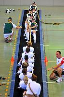 CALI - COLOMBIA - 28-07-2013: Competencia de Batalla de Fuerzas entre Surafrica y Alemania durante los IX Juegos Mundiales Cali, julio 28 de 2013. (Foto: VizzorImage / Cont). Forces Battle Competition between South Africa and Germany during the IX World Games Cali, July 28, 2013. (Photo: VizzorImage /Cont).