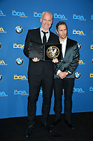 Martin McDonagh &amp; Sam Rockwell at the 70th Annual Directors Guild Awards at the Beverly Hilton Hotel, Beverly Hills, USA 03 Feb. 2018<br /> Picture: Paul Smith/Featureflash/SilverHub 0208 004 5359 sales@silverhubmedia.com
