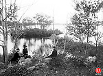 Lake Quassapaug in Middlebury, 1892.
