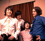 The Kinks 1966 Pete Quaife, Mick Avory, Ray Davies and Dave Davies.© Chris Walter.