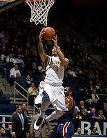Justin Cobbs of California shoots the ball during the game against Pepperdine at Haas Pavilion in Berkeley, California on November 13th, 2012.  California defeated Pepperdine, 79-62.