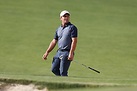 Francesco Molinari (ITA) chips on the 16th hole during the first round of the 118th U.S. Open Championship at Shinnecock Hills Golf Club in Southampton, NY, USA. 14th June 2018.<br /> Picture: Golffile | Brian Spurlock<br /> <br /> <br /> All photo usage must carry mandatory copyright credit (&copy; Golffile | Brian Spurlock)