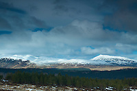 The Glen Lyon mountains from Creag Fhudhair above Kenmore, Perthshire