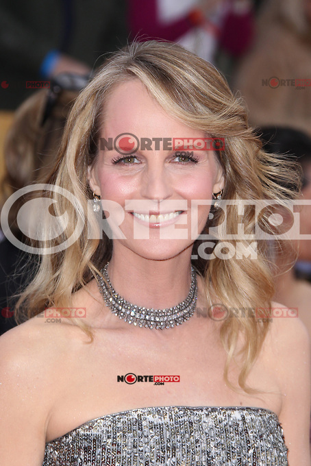 LOS ANGELES, CA - JANUARY 27: Helen Hunt at The 19th Annual Screen Actors Guild Awards at the Los Angeles Shrine Exposition Center in Los Angeles, California. January 27, 2013. Credit: MediaPunch Inc.