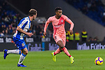 Nelson Semedo of FC Barcelona (R) in action during the La Liga 2018-19 match between RDC Espanyol and FC Barcelona at Camp Nou on 08 December 2018 in Barcelona, Spain. Photo by Vicens Gimenez / Power Sport Images
