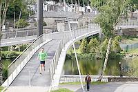 Deporte y Paseo, nuevo puente sobre el Rio Miño en Lugo