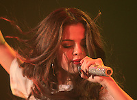 Selena Gomez performs during her Stars Dance Tour 2013  at Heineken Music Hall<br />