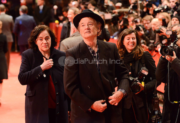 Bill Murray attending the &quot;The Monuments Men&quot; Premiere at at the 64th Annual Berlinale International Film Festival at Berlinale Palast, Berlin, Germany, 8.2.2014.<br /> Photo by Janne Tervonen/insight media /MediaPunch ***FOR USA ONLY***