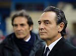 Italian head coach Cesare Prandelli gestures during the FIFA friendly football match Spain vs Italy on March 5, 2014 on the eve of their World Cup 2014 at the Vicente Calderon stadium in Madrid. PHOTOCALL 3000/ DP