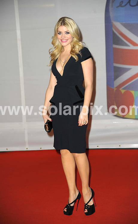 **ALL ROUND PICTURES FROM SOLARPIX.COM**                                             **WORLDWIDE SYNDICATION RIGHTS**                                                                                  Stars arrive at London's O2 Arena for the 2012 Brit Awards..This pic:  Holly Willoughby                                                                        .JOB REF:    14495   MSR     DATE:   22.02.12                                                         **MUST CREDIT SOLARPIX.COM OR DOUBLE FEE WILL BE CHARGED**                                                                      **MUST AGREE FEE BEFORE ONLINE USAGE**                               **CALL US ON: +34 952 811 768 or LOW RATE FROM UK 0844 617 7637**