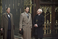 The King's Speech (2010) <br /> Geoffrey Rush, Colin Firth &amp; Derek Jacobi<br /> *Filmstill - Editorial Use Only*<br /> CAP/MFS<br /> Image supplied by Capital Pictures