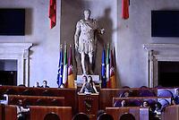 Roma, 10 Agosto 2016<br /> Virginia Raggi.<br /> Campidoglio.<br /> Consiglio Comunale straordinario su AMA, rifiuti e le consulenze dell'assessora  all'ambiente