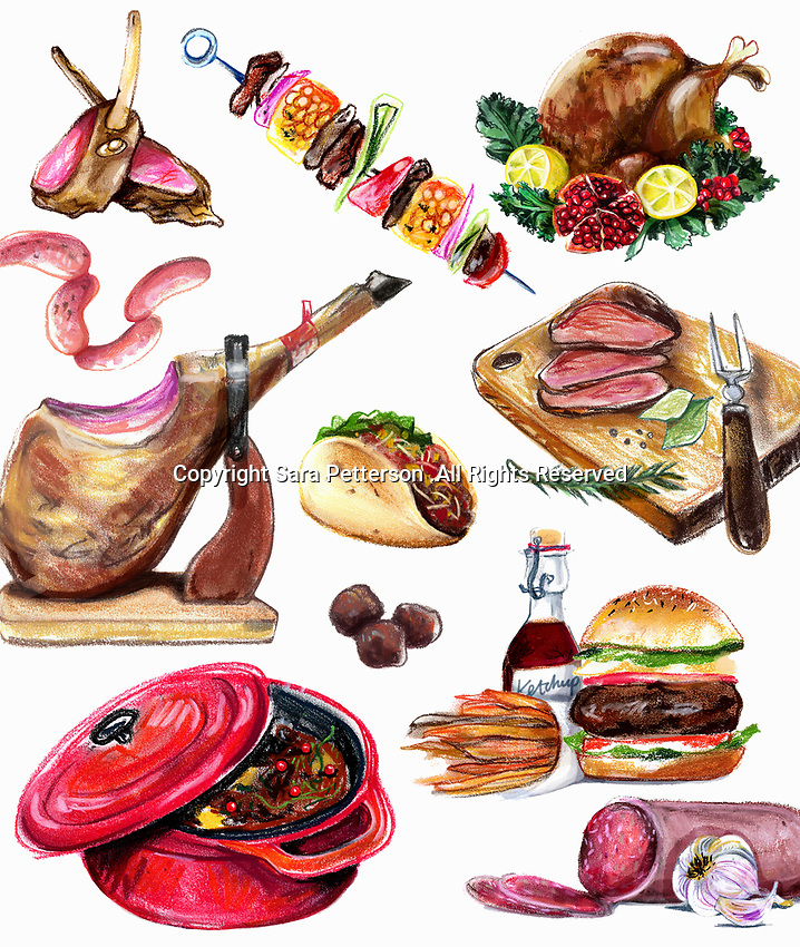 Variation of meat