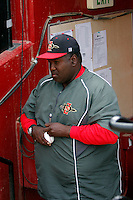 Tony Gwynn - 2009 San Diego State Aztecs .Photo by:  Bill Mitchell/Four Seam Images