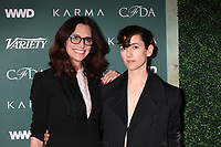 LOS ANGELES - FEB 20:  Elizabeth Stewart, Karla Welch at the CFDA Variety and WWD Runway to Red Carpet at Chateau Marmont Hotel on February 20, 2018 in West Hollywood, CA