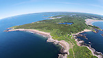 Small Point Maine Aerial Photo's