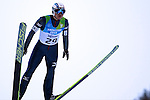 JAP Shota Horigome competes during the training of the Nordic Combined NH as part of the Trentino 2013 Winter Universiade Italy on 12/12/2013 in Predazzo, Italy.<br /> <br /> &copy; Pierre Teyssot - www.pierreteyssot.com