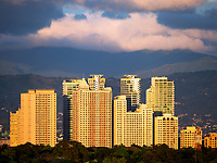 Architecture and High-rise Buildings in Manila, Philippines