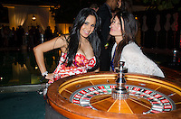 Roulette at 2013 Hearts & Stars Gala at Tierra Veritatis, Miami Beach, FL, March 9, 2013