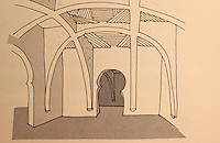 """World Civilization:  African Adobe Architecture--""""Hausa Vaults"""", fig. 16.  Labelle Prussin's """"Introduction to Indigenous African Architecture"""".  JOURNAL OF ARCHITECTURAL HISTORIANS: 10:74."""