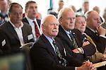 SOESTDUINEN - Jan Kees van Soest en Lout  Algemene Ledenvergadering van de NGF (Nederlandse Golf Federatie) met bestuurswisseling. COPYRIGHT KOEN SUYK