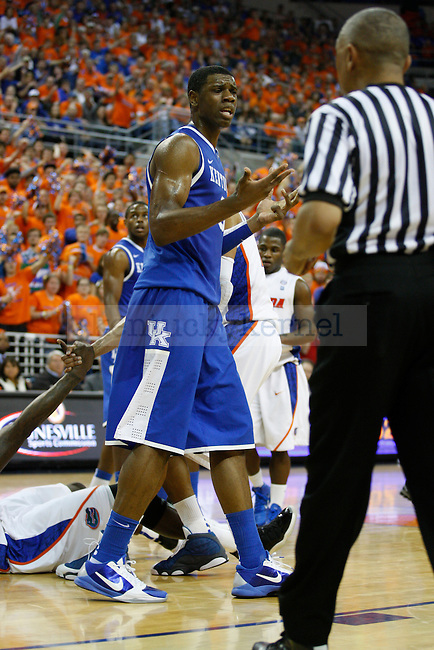 Terrence Jones showing frustration in Gainesville on February 5, 2011. Photo by Latara Appleby | Staff