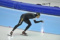 SCHAATSEN: HEERENVEEN: 29-12-2013, IJsstadion Thialf, KNSB Kwalificatie Toernooi (KKT), 1000m, Stefan Groothuis, ©foto Martin de Jong