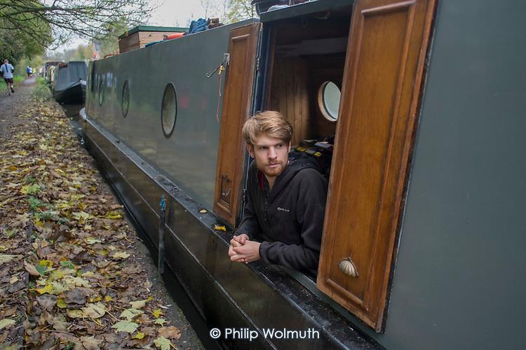 Joel , Grand Union canal, Rickmansworth.
