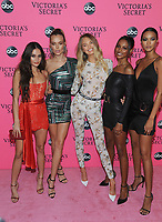 NEW YORK, NY - DECEMBER 02: Kelsey Merritt, Josephine Skiver, Romee Strijd, Jasmine Tookes, and Lais Riberio attends the Victoria's Secret Viewing Party at Spring Studios on December 2, 2018 in New York City. <br /> CAP/MPI/JP<br /> &copy;JP/MPI/Capital Pictures