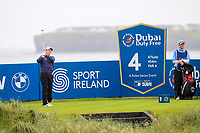 Robert Macintyre (SCO) on the 4th tee during the 3rd round of the Dubai Duty Free Irish Open, Lahinch Golf Club, Lahinch, Co. Clare, Ireland. 06/07/2019<br /> Picture: Golffile | Thos Caffrey<br /> <br /> <br /> All photo usage must carry mandatory copyright credit (© Golffile | Thos Caffrey)