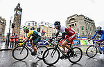 Wales Geraint Thomas in action during the Mens road race<br /> <br /> Photographer Ian Cook/Sportingwales<br /> <br /> 20th Commonwealth Games - Day 11 - Sunday 3rd August 2014 - Road Race - Glasgow - UK
