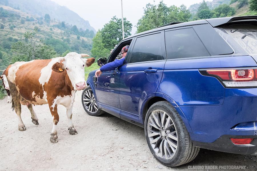 Castelmagno, Mark Brownstein Foodhunter, Land Rover