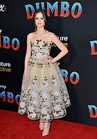 LOS ANGELES, CA. March 11, 2019: Olivia Sanabia at the world premiere of &quot;Dumbo&quot; at the El Capitan Theatre.<br /> Picture: Paul Smith/Featureflash